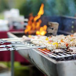 Food on grill homefoodsafetyorg