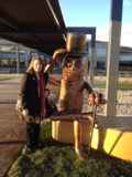 Me and mr peanut