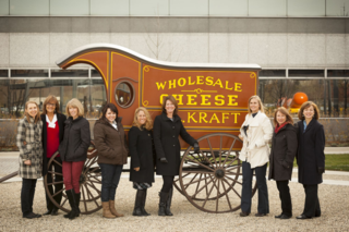 Group Shot with Kraft Waggon