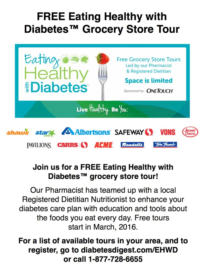 Diabetes tour poster